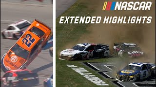 Big wrecks and Logano goes over: Talladega Extended Highlights | NASCAR Cup Series