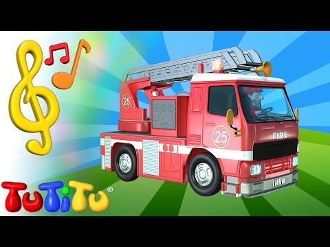 Giochi e canzoni TuTiTu in inglese | Camion dei pompieri | Imparare l'inglese con le canzoni