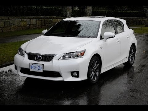 2012 lexus ct200h review youtube