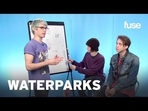 Waterparks Play Draw That Band