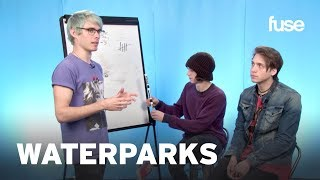 Waterparks Play Draw That Band | Fuse