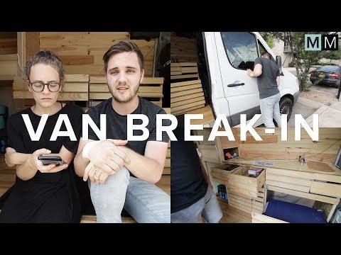 VAN BREAK-IN | #reallife #vanlife