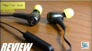 REVIEW: Nuforce BE Sport3 Bluetooth Earphones (HiFi)