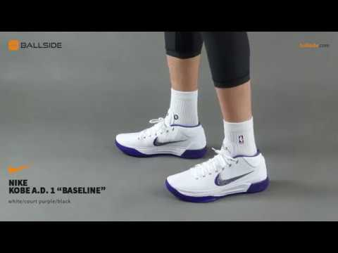 best website 95a49 604af Nike Kobe A D 1 mid Baseline on feet