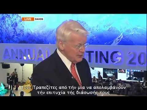Iceland President Olafur Ragnar Grimsson  'Let banks go bankrupt'