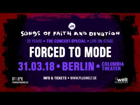 """FORCED TO MODE - 25 YEARS """"SONGS OF FAITH AND DEVOTION"""" - Concert Special Trailer"""