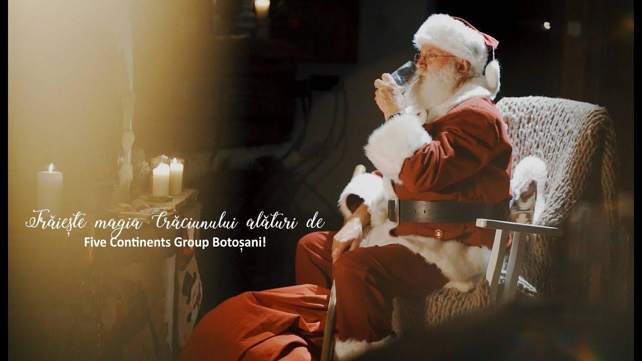 Trăiește Magia Crăciunului alături de Five Continents Group Botoșani!