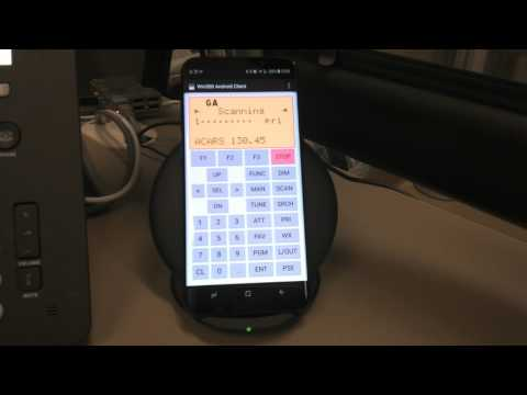 WIN500 Android app remote to trunked scanner.