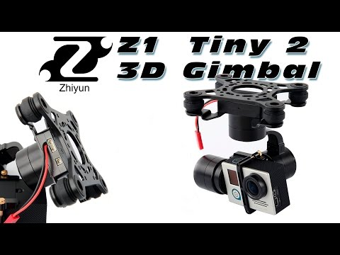 DutchRC - Zhiyun Z1 - TINY 2 High Quality 3D Gimbal Show & Tell!