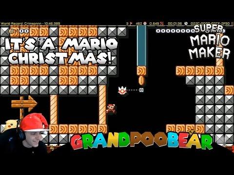 Mario Maker: Brought To You By Snapback Santa