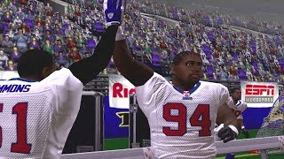 NFL 2k5 Gameplay Giants vs Ravens Franchise