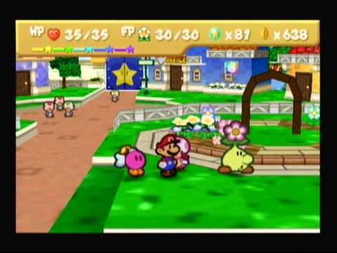 Paper Mario Chapter 6 Dark Days In Flower Fields Part 1 YouTube