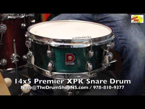 Premier XPK Snare 14x5 - The Drum Shop North Shore