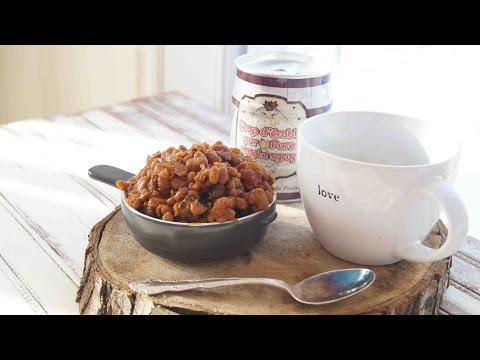 camille-cuisine-|-fèves-au-lard-à-l'érable-à-la-mijoteuse