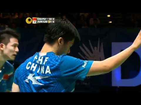 Jung Jae Sung & Lee Yong Dae vs Cai Yun & Fu Haifeng All England 2012