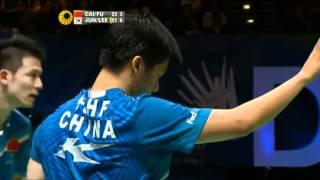 Jung Jae Sung & Lee Yong Dae vs Cai Yun & Fu Haifeng All England 2012