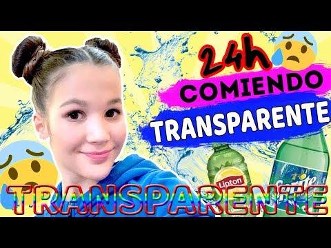 24 HORAS COMIENDO TRANSPARENTE | MI GRAN SHOW DE BAILE | Daniela Golubeva
