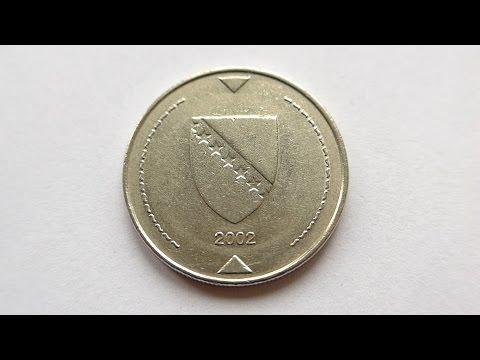 1 Convertible Mark Coin :: Bosnia & Herzegovina 2002