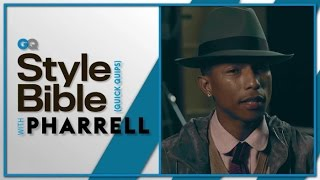Pharrell's Dating Advice – GQ Style Bible – Celebrity Interview