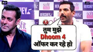 OMG :- John Abraham Interview Media for Dhoom 3 Reaction | Salman Khan Dhoom 3 Reaction 2018 💥
