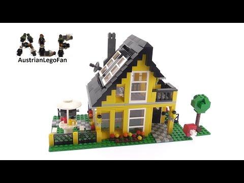 Lego Creator 4996 Beach House - Lego Speed Build Review