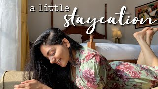 A little staycation with Ishaani & Hansika 🌸 | Ahaana Krishna | Travel VLOG