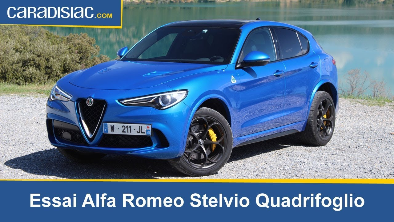 essai alfa romeo stelvio quadrifoglio youtube. Black Bedroom Furniture Sets. Home Design Ideas