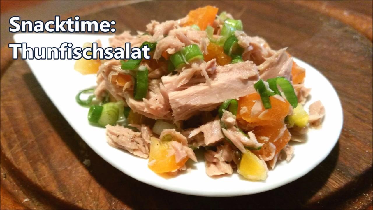 kalorienarmer thunfischsalat, thunfischsalat - kalorienarmer snack mit viel protein - youtube, Design ideen