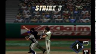 All Star Baseball 2001 Full Game - Atlanta Braves vs. San Francisco Giants (Big Ball & Smoke Cheats)