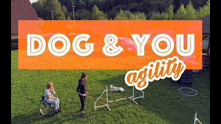 Dog Agility Trainig / Parrot Anafi / 4K