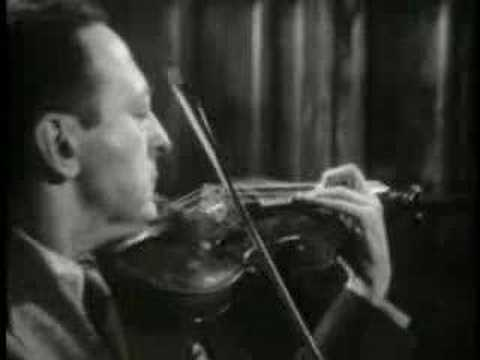 Jascha Heifetz plays Wieniawski Polonaise No. 1 in D Major