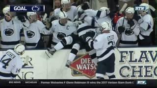 Minnesota at Penn State - Men's Hockey Highlights