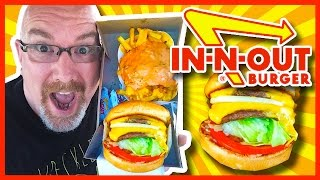 In-N-Out Double Double Burger, Animal Style Fries & Chocolate Milkshake Review