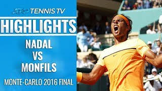 Nadal vs Monfils Monte-Carlo 2016 Final: Extended Highlights