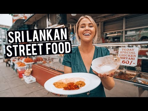 We Tried Sri Lankan Street Food in Colombo