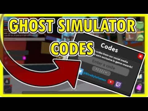 roblox codes for ghost simulator