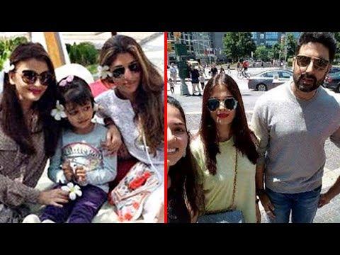 Aishwarya Rai And Abhishek Bachchan Take Selfies With Aaradhya, Friends And Fans