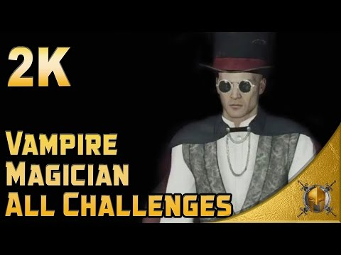 HITMAN 2016 - All Vampire Magician Challenges - Walkthrough (No detection/Silent Assassin) [1440p]
