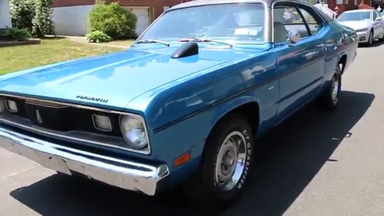 1970 Plymouth Duster 340 H Code For Sale Pwr Steering