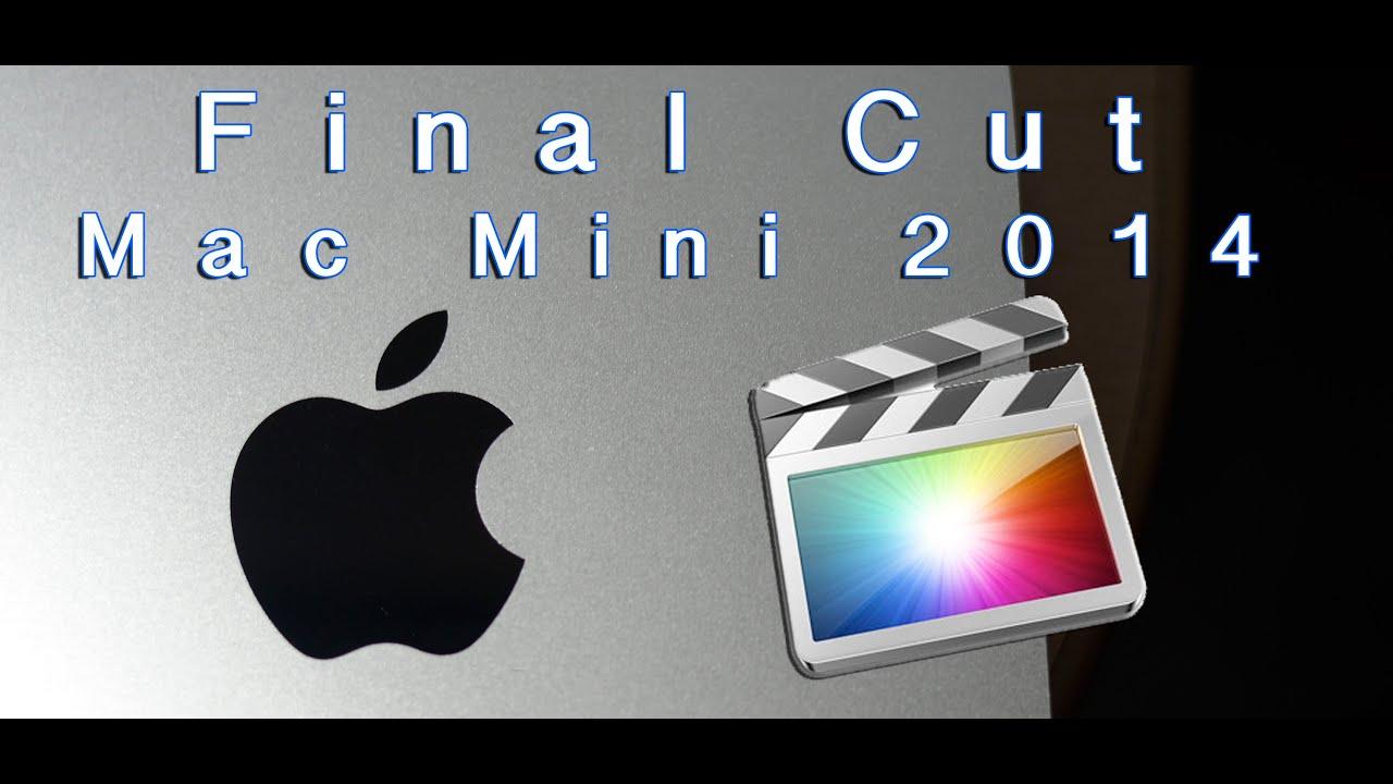 Mac Mini Late 2014 - Rendimiento en Final Cut Pro X - En Español ...