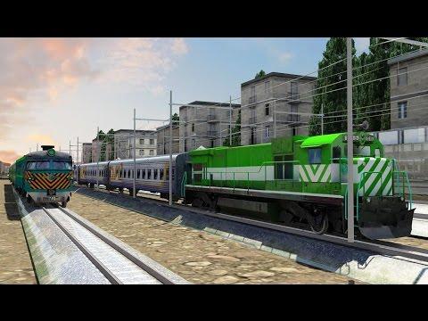 Train Driver 2016 - USA Level Complete - Game Kereta Api Seru (Android Game)