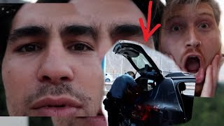 WE GOT STOPPED AT THE BORDER!! (freakout)