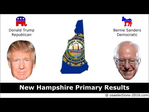 New Hampshire Primary Result 2016 : US Election 2016
