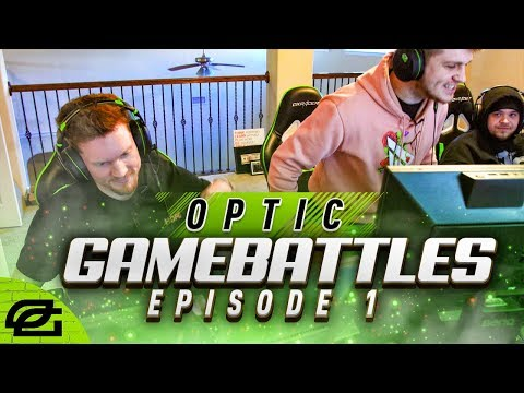 OPTIC GAMEBATTLES EP 1 | THEY DIDN'T BELIEVE WE WERE REALLY OPTIC!?!