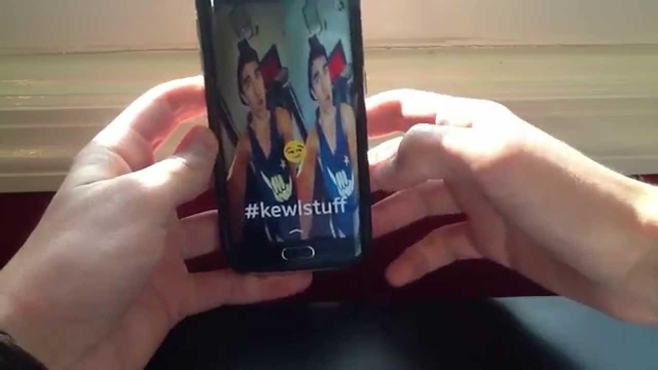 how to make snapchat glitches