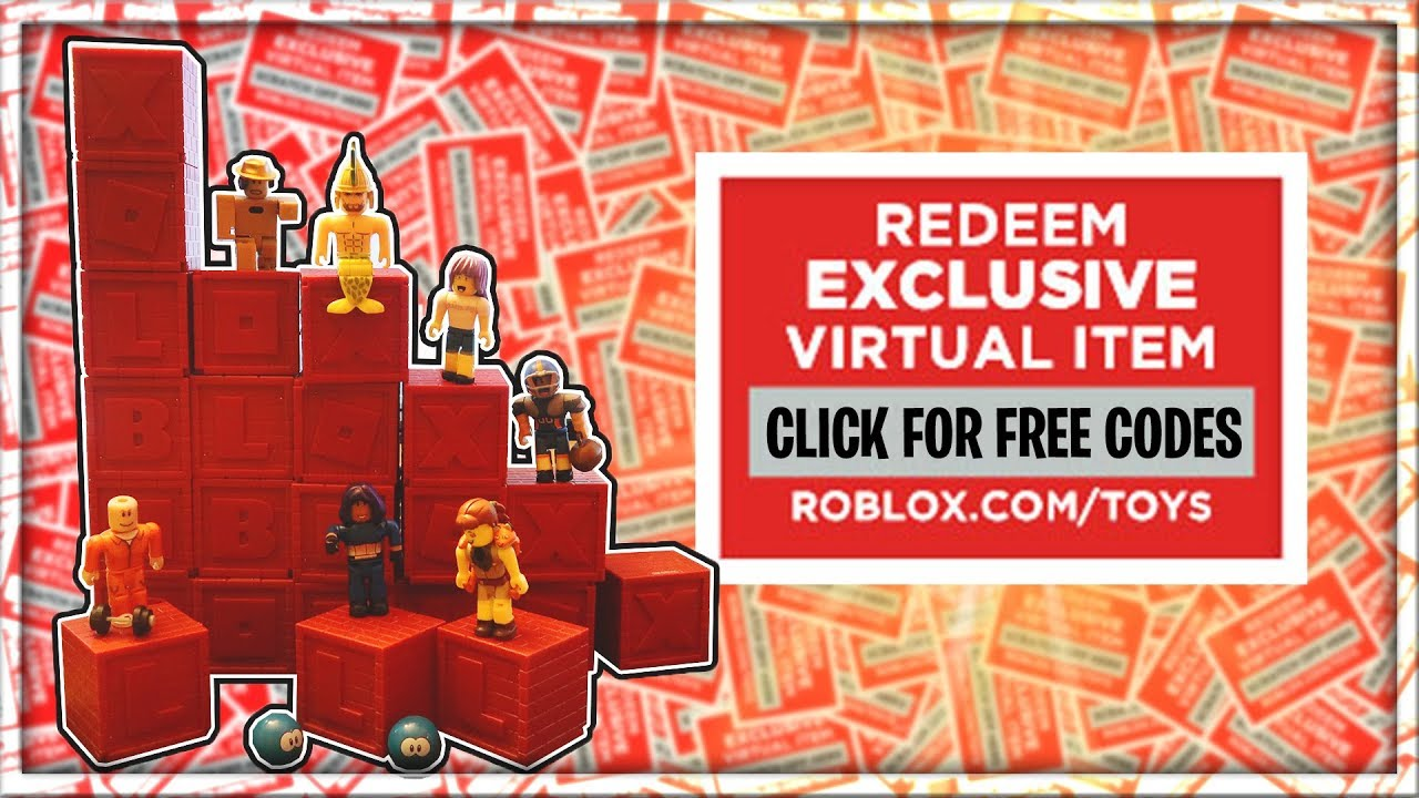 Roblox Toys Free Codes Youtube