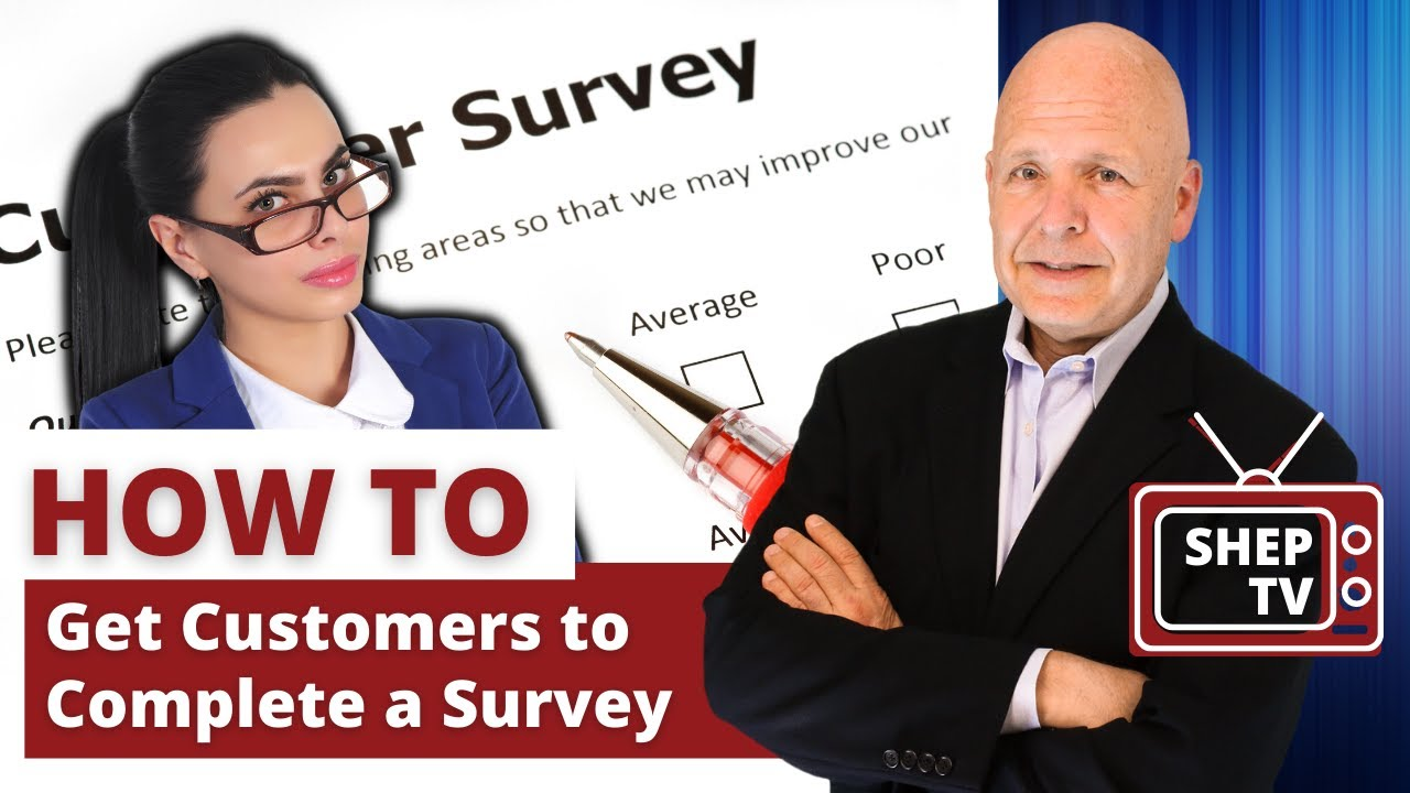 Secret to Having Customers Complete Your Survey - YouTube