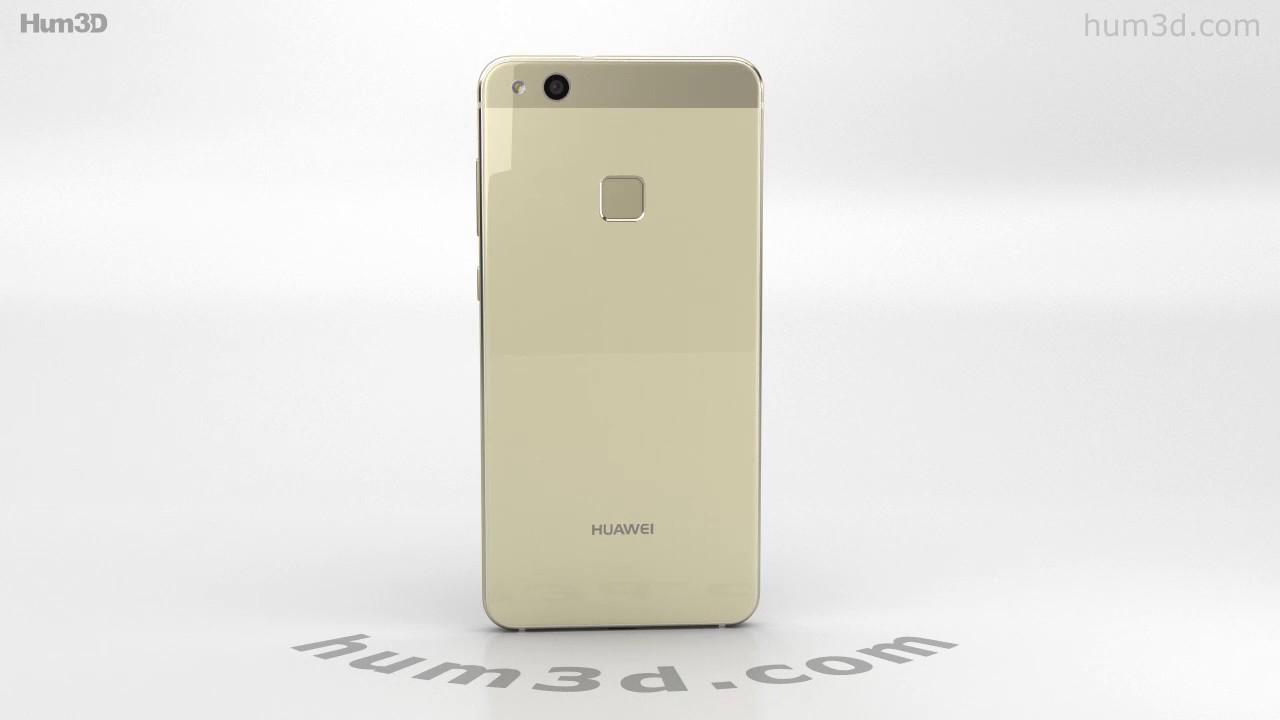 Huawei P10 Lite Platinum Gold 3d Model By Hum3dcom