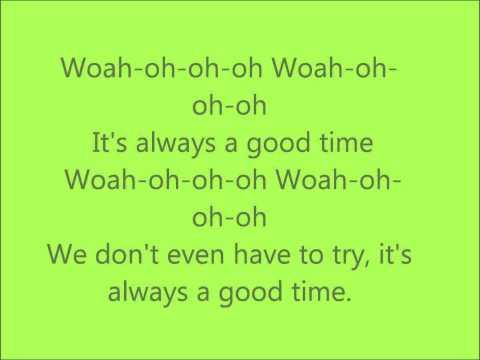 Good Time ; Owl City - lyrics