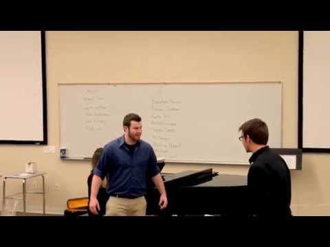 Joel & Jonah sing Devil Take the Hindmost from Love Never Dies